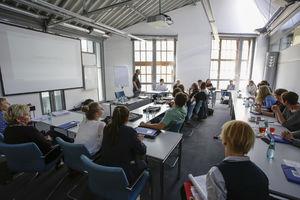 Foto: Blick in Workshopraum