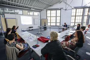 Foto: Blick in den Workshopraum