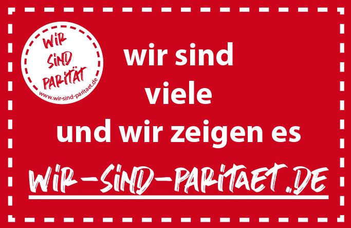 Wir sind viele und wir zeigen es: Profilplattform wir-sind-paritaet.de