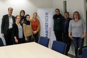 Foto: Die IKÖ-Koordinierungsgruppe im Gesamtverband